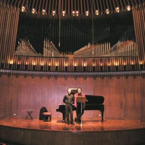 Auditorio Arango, Bogotá, Colombia, 2004 - Con Víctor  Torres
