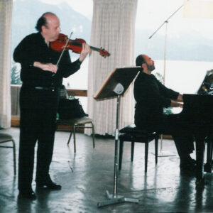 Bariloche, 2004 - Con Fernando Hasaj