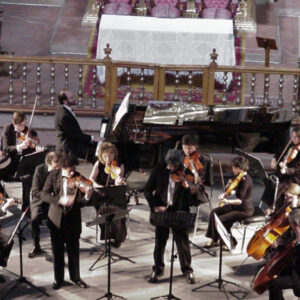 Guanajuato, México, 2001 - Con la Orquesta Mayo