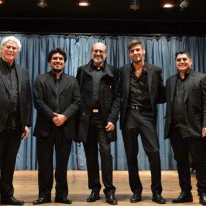 Fundación San Rafael, 2015. Con el Cuarteto Juan José Castro
