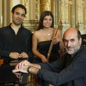 Teatro Colón, 2015. Con José Araujo y M. Cecilia Muñoz