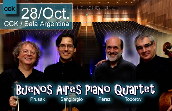 Buenos Aires Piano Quartet en el CCK