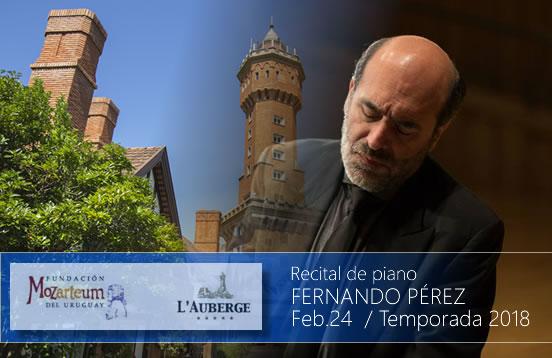 Recital de piano – Mozarteum de Uruguay