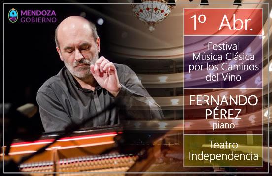 Recital de piano en Mendoza