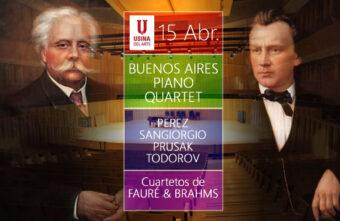 Cuartetos de Fauré y Brahms