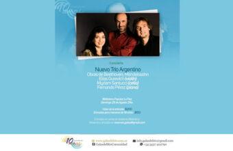El Nuevo Trío Argentino en el Festival Galas del Río