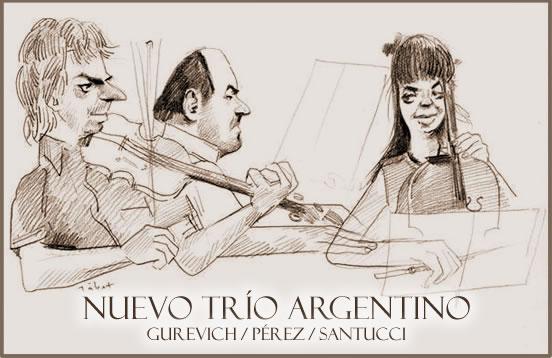 El Nuevo Trío Argentino actúa en Rosario