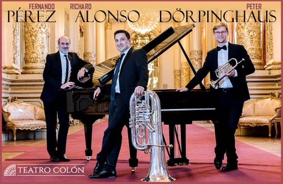 Trío Alonso /Pérez /Dörpinghaus en el Teatro Colón