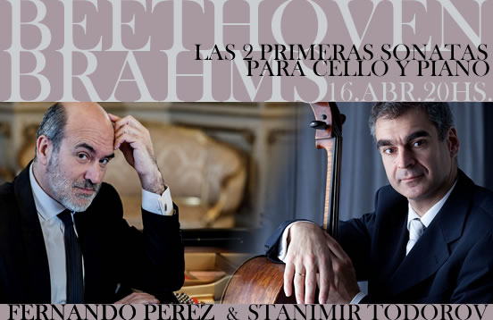 Beethoven & Brahms / Sonatas para cello y piano