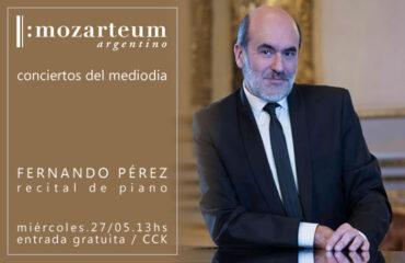Conciertos del mediodía del Mozarteum en el CCK